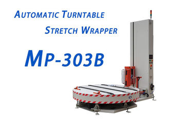 Automatic Conveyor Stretch Film Machine , High Efficiency Automatic Pallet Wrapper
