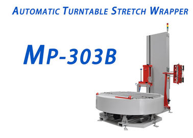 0.4-0.7Mpa Air Pressure Automatic Turntable Stretch Wrapper Width 700mm