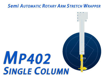 200% Pre Stretch Ratio Rotary Arm Stretch Wrapper For Food And Beverage