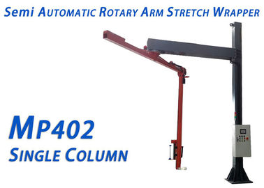 MP-402 SC Semi Rotary Arm Stretch Wrapper Heating Cutting With Single Column