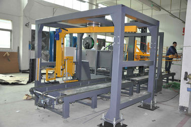 Height Moveable Polypropylene Strapping Machine With Electrical And Electronic Controls
