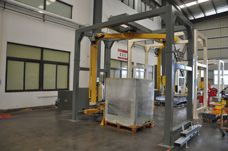 Turnable Industrial Wrapping Machine , Fast Pallet Stretch Wrapping Machine